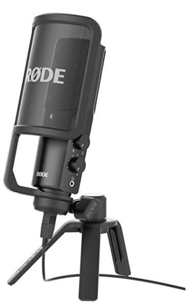 RODE ロード NT-USB USB接続型スタジオマイクロフォン