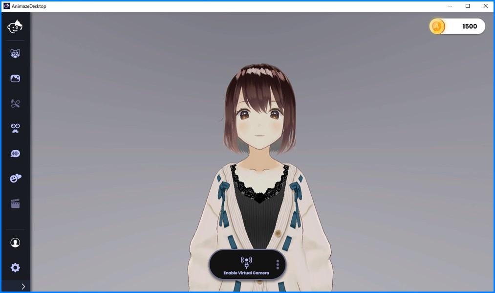 Animaze Editor 3Dモデル