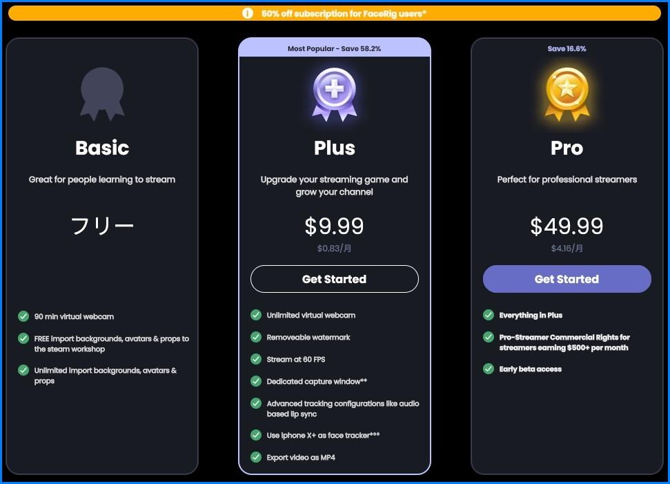 Animazeのサブスクリプション(料金プラン)について